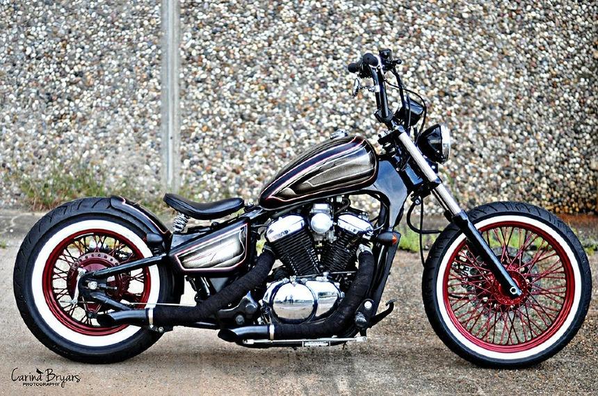 Kit de moto bobber vintage