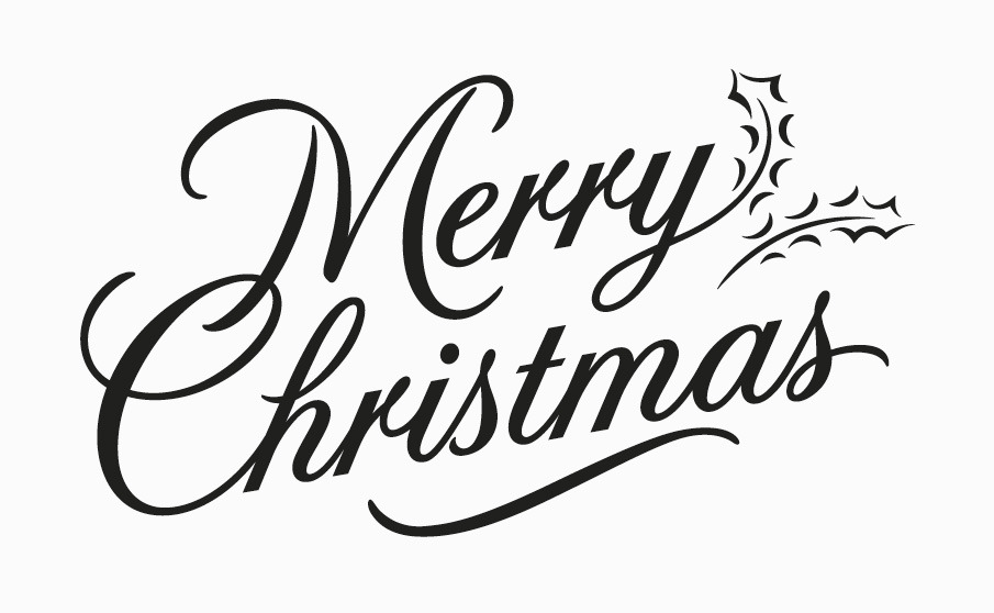 Fancy Merry Christmas Lettering merry christmas script merry christmas