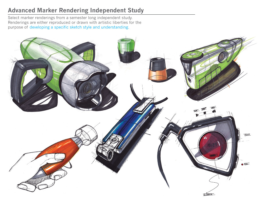 Sketches Daniel Wainless Industrial Design Portfolio